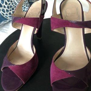 Vintage Dior sling back heels sz 36 1/2